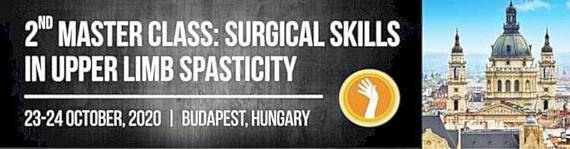 2nd MASTER CLASS: SURGERY OF THE SPASTIC UPPER LIMB, Budapest, Hugary