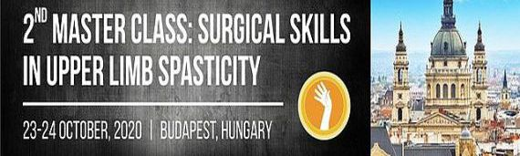 Master Class: Surgery of the Spastic Upper Limb, Budapest, Hugary - POSTPONED TO 2021